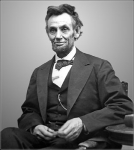 An image of Abraham Lincoln