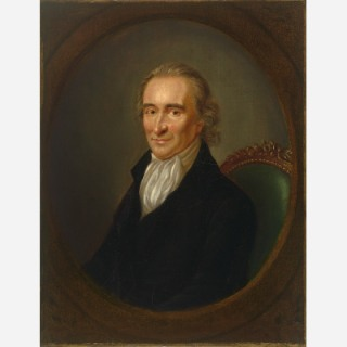 A painting of Thomas Paine