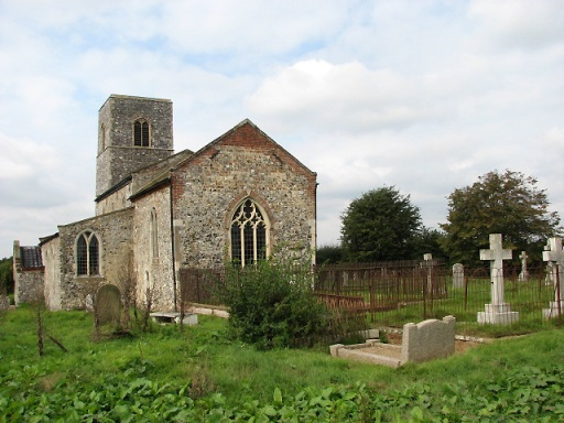 An image of All Saints Church, Rackheath