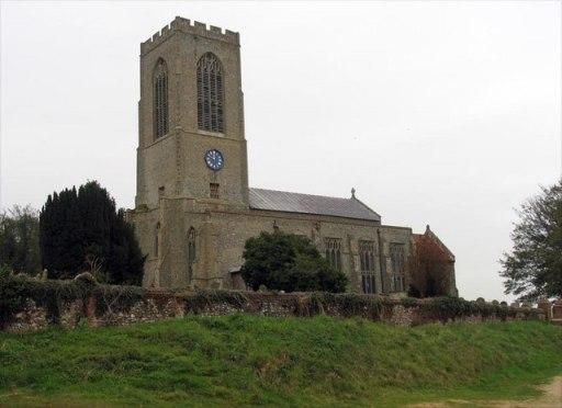 An image of All Saints Church, Swanton Morley