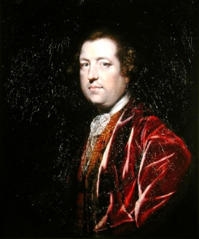 A portrait of Charles Townshend by Sir Joshua Reynolds