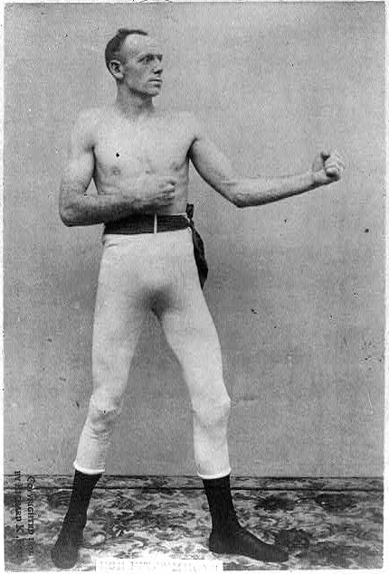 An image of boxer Jem Mace of Beeston-next-Mileham