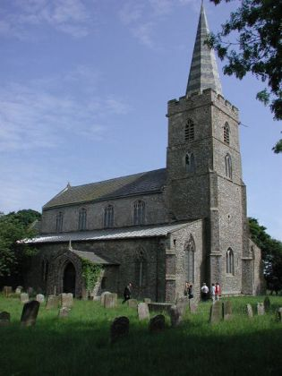 An image of St Mary's Church, Beeston-next-Mileham
