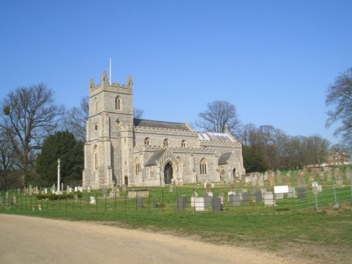 An image of St Mary's Church, East Raynham