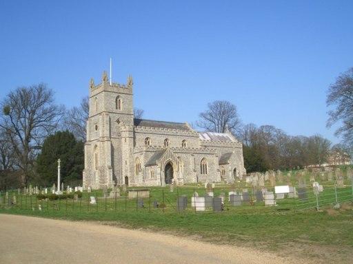 An image of St Mary's Church, East Raynham
