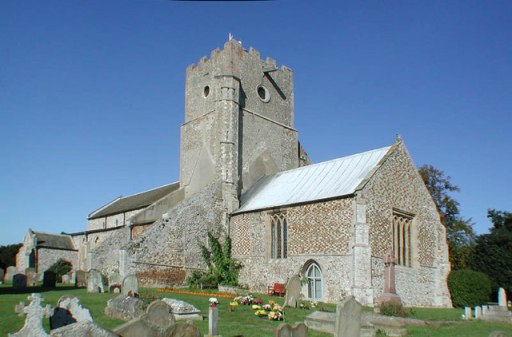 An image of St Mary's Church, Heacham