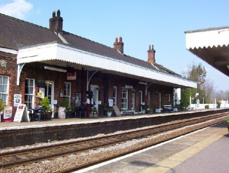 An image of Wymondham railway station