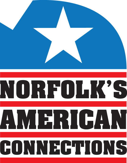 An image of the Norfolk's American Connections logo
